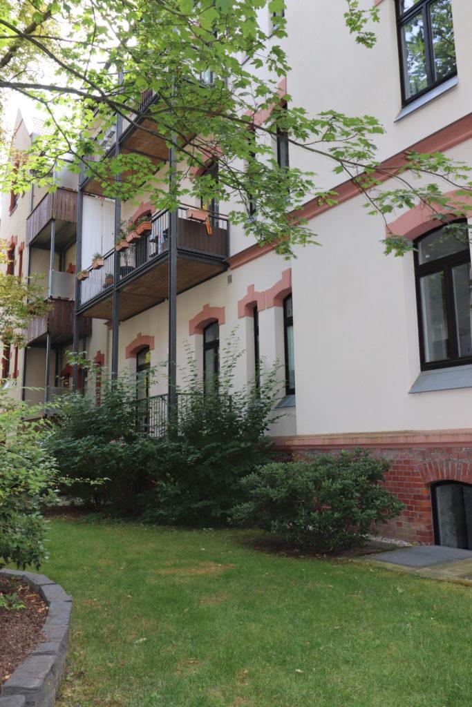 Exklusiv Wohnen in Leipzig - 2 Balkone | Gästebad | Kamin | Einbauküche | Stellplatz